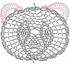 Crochet Panda Free Applique Pattern - Crochet / knit / stitch charts and graphs Crochet Panda, Crochet Amigurumi, Crochet Bear, Thread Crochet, Love Crochet, Crochet Toys, Filet Crochet, Crochet Diagram, Crochet Motif