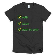 Head No Good - Short sleeve women's t-shirt