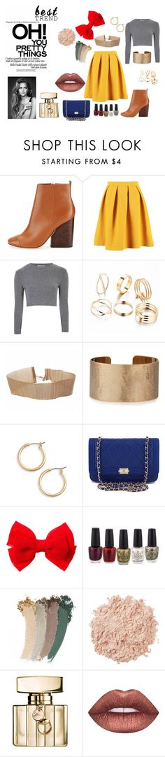 """""""Untitled #285"""" by magicalalice ❤ liked on Polyvore featuring Tory Burch, Inca, Glamorous, Panacea, Nordstrom, Chanel, Gucci, La Mer and Lime Crime"""