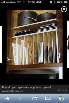 Kitchen storage ideas for open cabinet