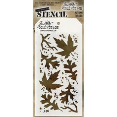 Stampers Anonymous - Tim Holtz - Layering Stencil - Autumn