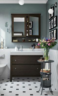 moderne waschbecken mit unterschrank | badezimmer ideen – fliesen, Moderne deko