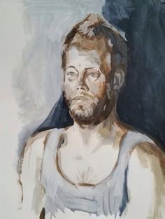 Portrait study by Dunja