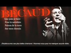 """Gilbert Bécaud - *Je t'appartiens* 1955 - Paroles (Lyrics) - Later made popular in 1960 by the Everly Brothers, """"Let it be me"""" .YouTube"""