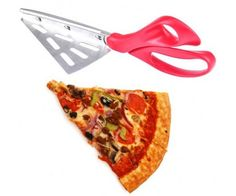 Pizza vágó olló lapáttal, remek konyhai ajándék