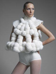 Fashionadictas by Marcela: Sandra Backlund y el Arte Cinético