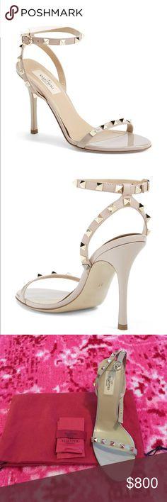 Spotted while shopping on Poshmark: Valentino rockstud sandals! #poshmark #fashion #shopping #style #Valentino #Shoes