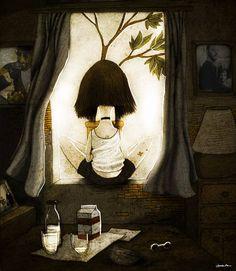 I really miss you, Léon Mathilda by berk ozturk