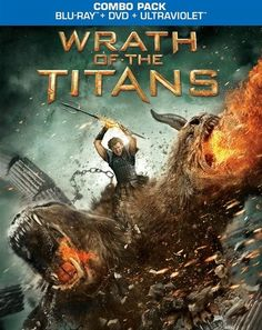 Wrath Of The Titans Blu-Ray Review & Podcast.