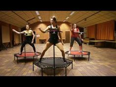 Jumping fitness - YouTube