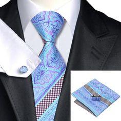 Подарочный галстук бирюзовый с фиолетовым - купить в Киеве и Украине по недорогой цене, интернет-магазин