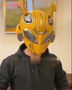 New Arrival Transformer Bumblebee Wearable Helmet Bluetooth Speaker😎😎 Gadgets And Gizmos, Cool Gadgets, Transformer Party, Transformers Bumblebee, Game Room Design, Robot Design, 3d Prints, Cool Inventions, Cool Tech