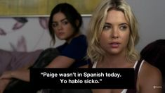 Because at least she's trying. | Definitive Proof Hanna Marin Is The Best Pretty Little Liar