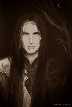 Noldor Elf by Brunild.deviantart.com on @DeviantArt. The Noldor were the Second Clan of the Elves in both order and size, the other clans being the Vanyar, a smaller group, and the Teleri, a much larger one. The Noldor typically had grey eyes, fair skin, and dark hair, save for the members of the golden-haired House of Finarfin.