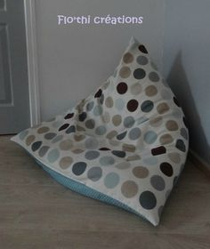 tuto faire un pouf furniture sewing couture sewing. Black Bedroom Furniture Sets. Home Design Ideas