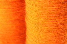 orange Bergschafwolle. Community, Orange