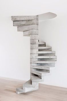 Looking for concrete stairs design and trends? Access a gallery of concrete staircase photos from top outdoor designers. Open Stairs, Attic Stairs, House Stairs, Carpet Stairs, Under Stairs, Concrete Staircase, Precast Concrete, Spiral Staircase, Stair Railing