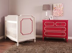 We are loving Newport Cottages' new Beverly collection! #nursery