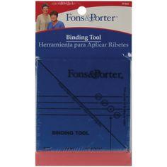 Fons and Porter Binding Tool