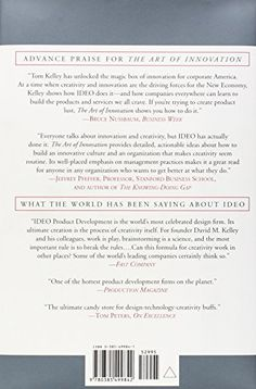 The Art of Innovation: Lessons in Creativity from IDEO, America's Leading Design Firm: Tom Kelley, Jonathan Littman, Tom Peters: 9780385499842: Amazon.com: Books
