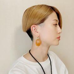 窪田サキさんはInstagramを利用しています:「髪型、サイドとバックも見たいとメッセージいただいたので😎 #ショートカット #ショートヘア #ショート #刈り上げショート」