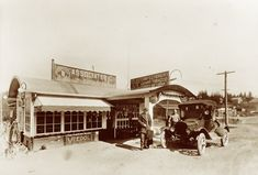 Early Associated Gas and Candy Store