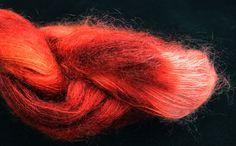 Cowgirlblues : Kidsilk Tibetan Red, Ruby Grapefruit, Mandarin, Coral 25.00 knits en knots   Kidsilk Tibetan Red, Ruby Grapefruit, Mandarin, Coral 70% KidMohair 30% Zijde Made in South Africa 50 gram - 450 meter € 24,95