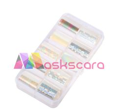 Opal Themed Transfer Foil Case Each foil design is approximately 1 meter in length. For optimal results - use in conjunction with Maskscara's Gel-iT Foil Gel! Transfer Foil, Opal, Nail Art, Design, Opals, Nail Arts, Nail Art Designs