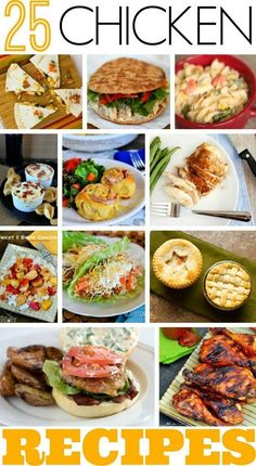 25 Mouthwatering Chicken Recipes Worth Making
