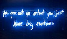 you are not an artist you just have big emotions AHS - Google Search