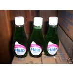 vintage halo shampoo | eBay Image 1 VINTAGE 3 UNUSED GLASS BOTTLES HALO SHAMPOO MINT