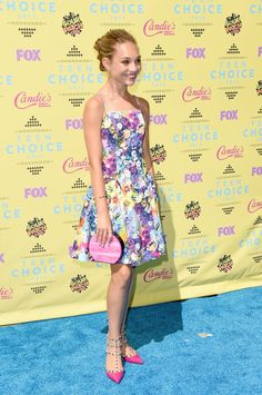 Pin for Later: The Sun — and Stars — Came Out For the Teen Choice Awards! Maddie Ziegler