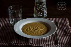 In my little kitchen: Crema de berenjenas asadas