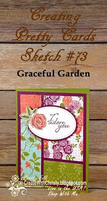 Free, complete instructions included in the blog post -  Stampin' Up! Graceful Garden - CPC74 - Create With Christy - Christy Fulk, Independent SU! Demo