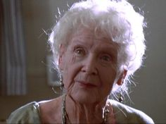 Old Rose (Gloria Stuart):from Titanic (1997) directed by James Cameron