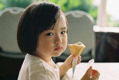 Don't worry about my ice cream cone...