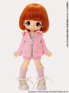 Kinoko Juice+Azone: New KIKIPOP Dolls
