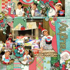 Holly Jolly Christmas The Bundle by Cluster Queen Creations http://scraporchard.com/market/Holly-Jolly-Christmas-The-Bundle-Digital-Scrapboo...