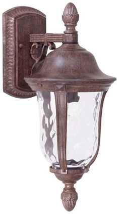 "View the The Great Outdoors GO 8997 1 Light 17.5"" Height Outdoor Wall Sconce in Vintage Rust from the Ardmore Collection at Build.com."