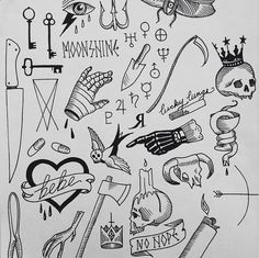 Avulso Sharpie Tattoos, Boy Tattoos, Body Art Tattoos, Small Tattoos, Tatoos, Doodle Tattoo, Poke Tattoo, Dark Tattoo, Tattoo Sketches