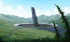 Colonial One by Fantasy City, Sci Fi Fantasy, Fantasy World, Sci Fi Environment, Environment Design, Futuristic City, Futuristic Architecture, Fantasy Landscape, Landscape Art
