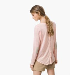 CAMISETA BOTONES ESPALDA - Manga larga - Camisetas - WOMEN - España - Massimo Dutti