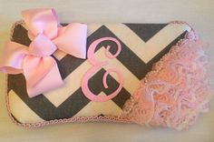 Custom Grey & cream chevron baby wipe case by BabyWipeCaseBoutique, $20.00