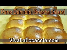 Video Ricetta Pane Danubio (Brioche Salate) - Ricette di VivaLaFocaccia