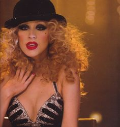 "Christina Aguilera in ""Burlesque"" movie. Source: http://caguilera.tumblr.com/post/61663248926"
