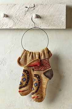 Kapital Bell Socks #anthropologie