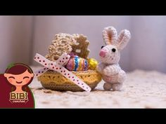Amigurumi   como hacer una canasta para pascua en crochet   Bibi Crochet 2018 - YouTube
