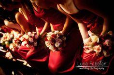 Wedding: bridesmaids bouquets