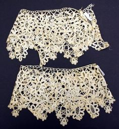 Object Name  Cuffs  Date  19th century