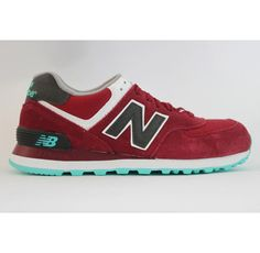 New Balance NB lovers style wine Red Grey For Men shoes Casual shoes Shop ef2f1d204f0